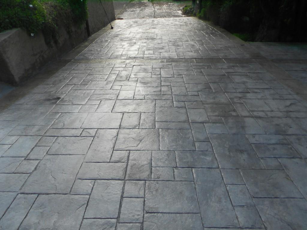 Pavimento Calcestruzzo Stampato : Cemento stampato
